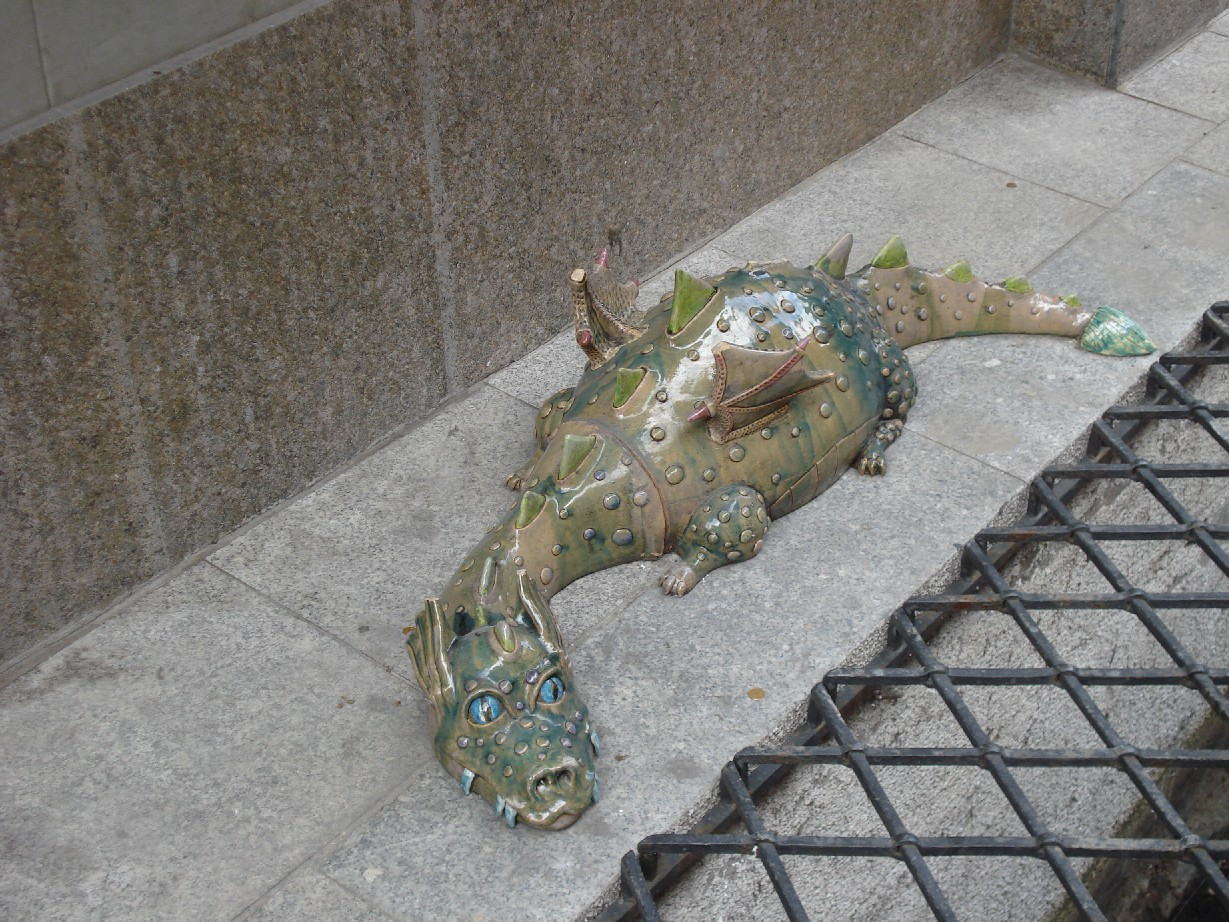Dragon-spotting in Torun is a favourite pass-time since the 18th century.