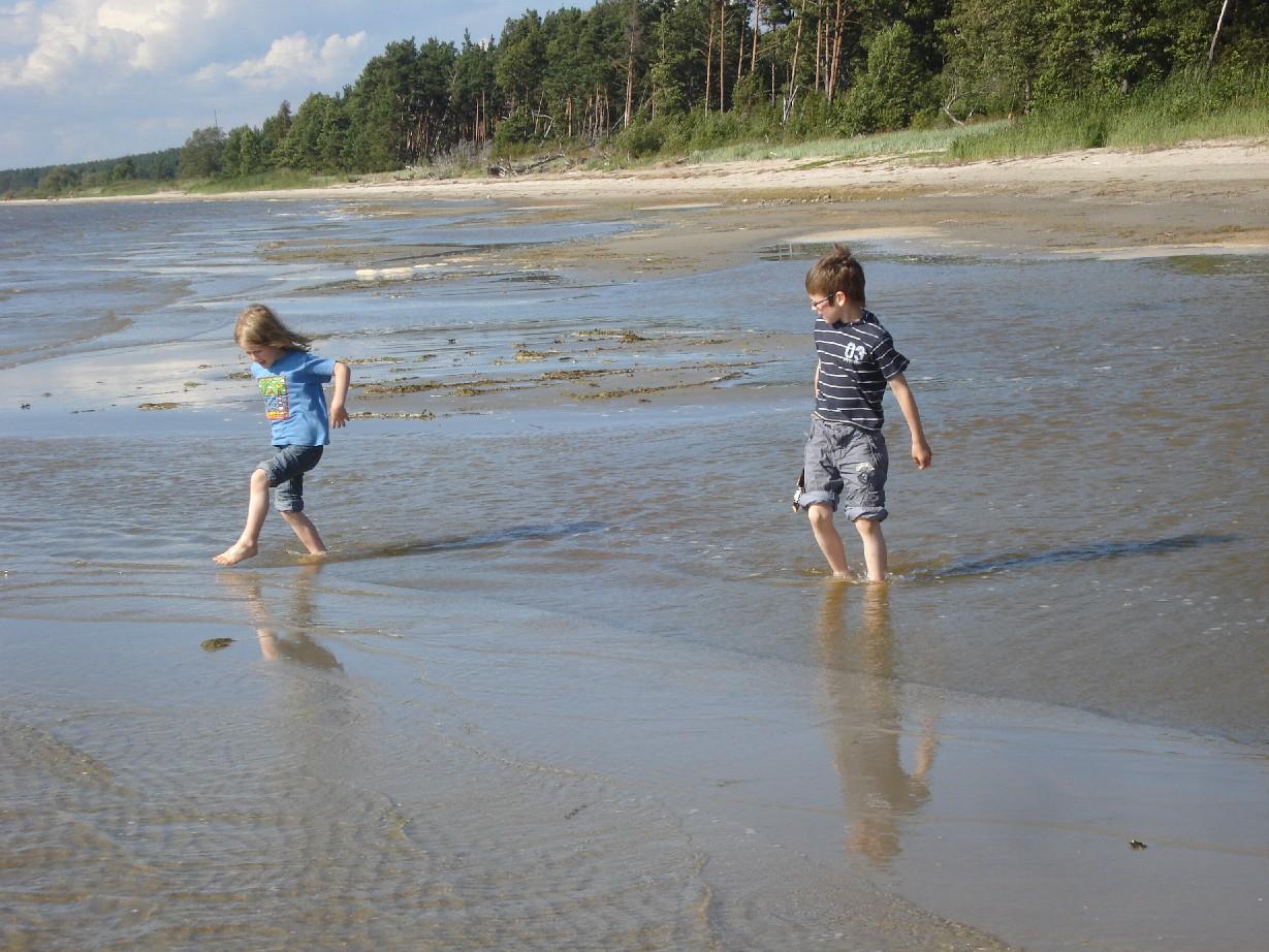 Strand-bei-Pärnu