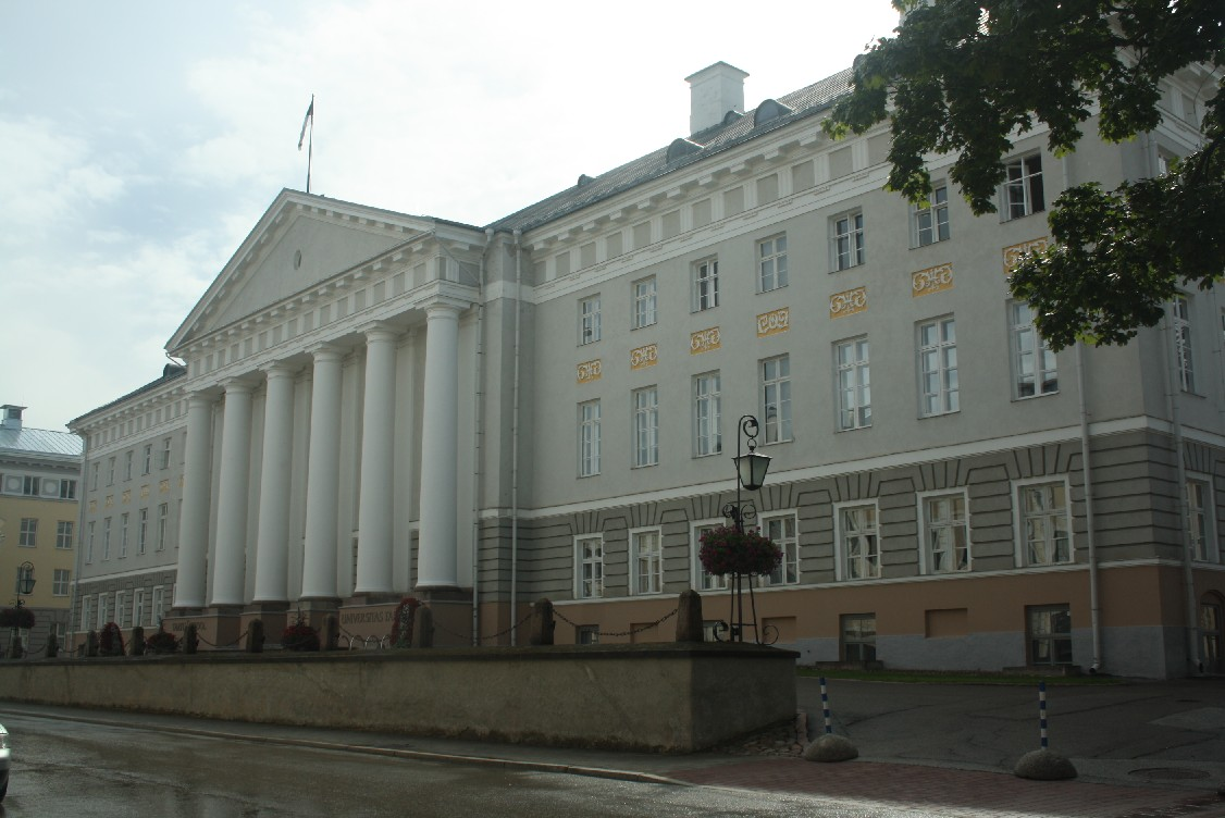Tartu university - it's the students that form the animated atmosphere of the town.