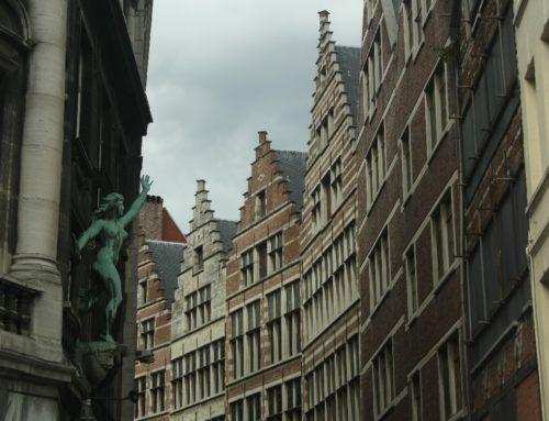 Noch 'ne Mütze voll Prunk und dann ab durch die Mitte (in Antwerpen, Belgien)