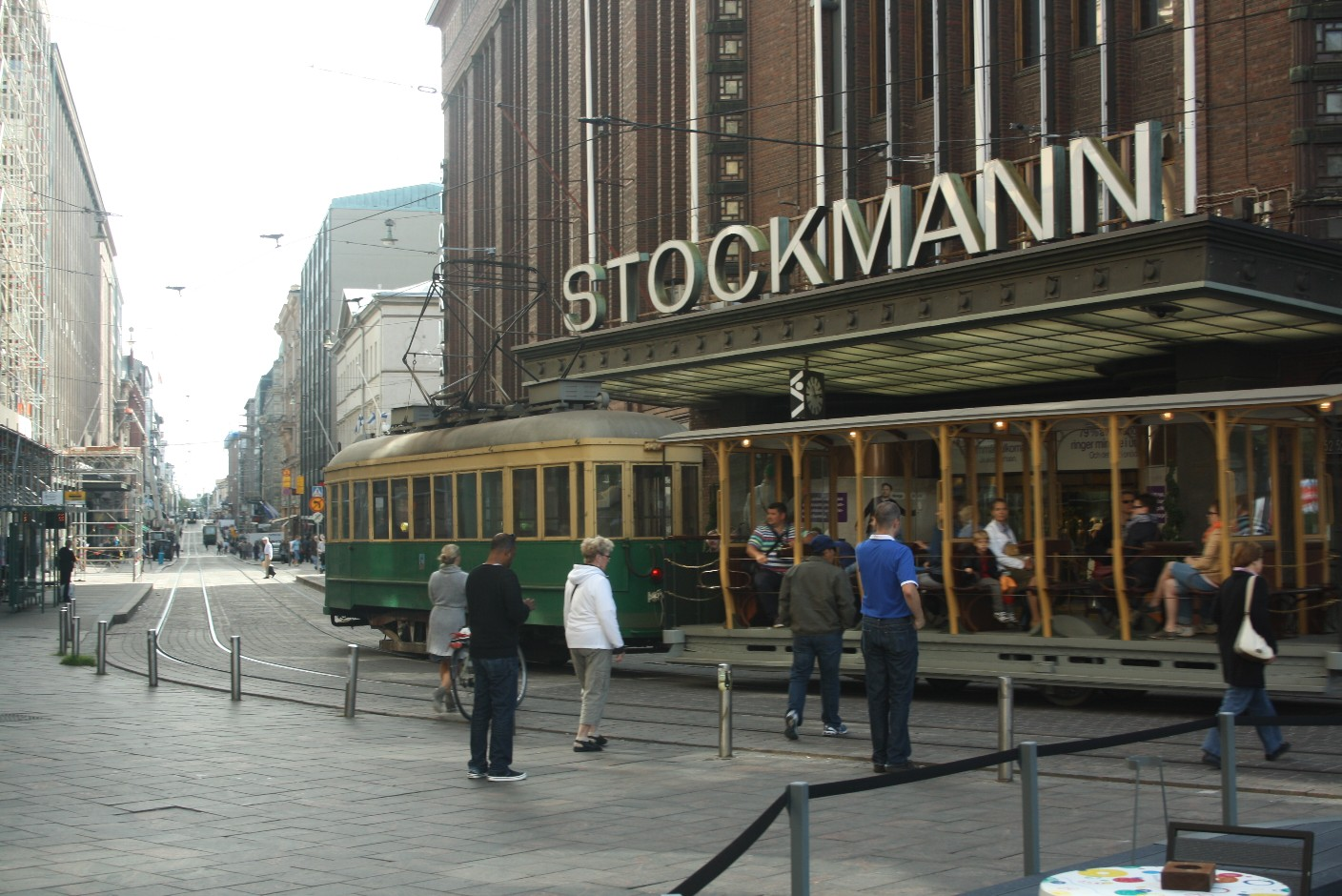 Stockmann is Helsinki's oldest department store and also hosts Northern Europe's biggest super-market.