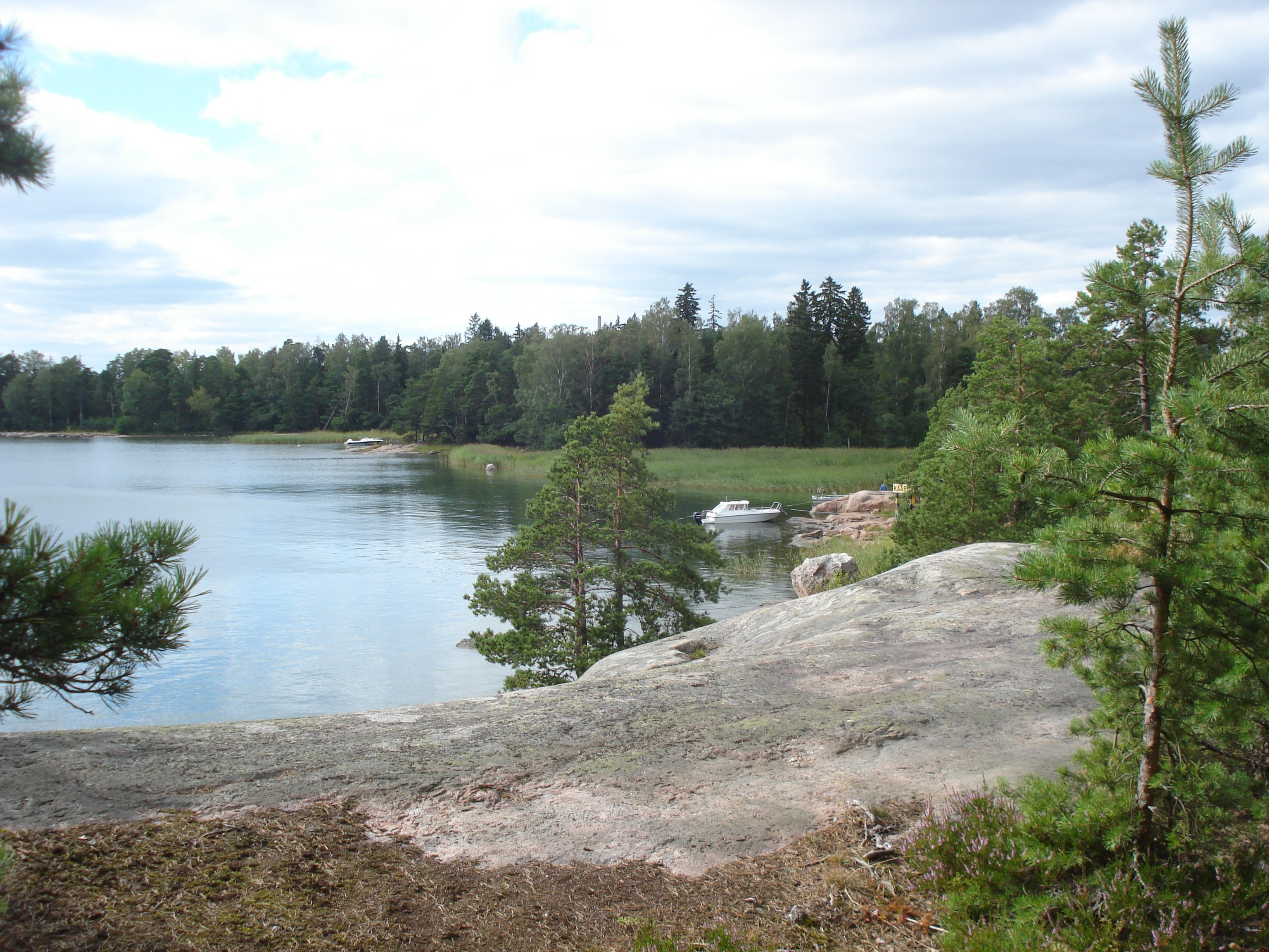 This wilderness is easily accessible from Helsinki: just take a water-bus from the capital.
