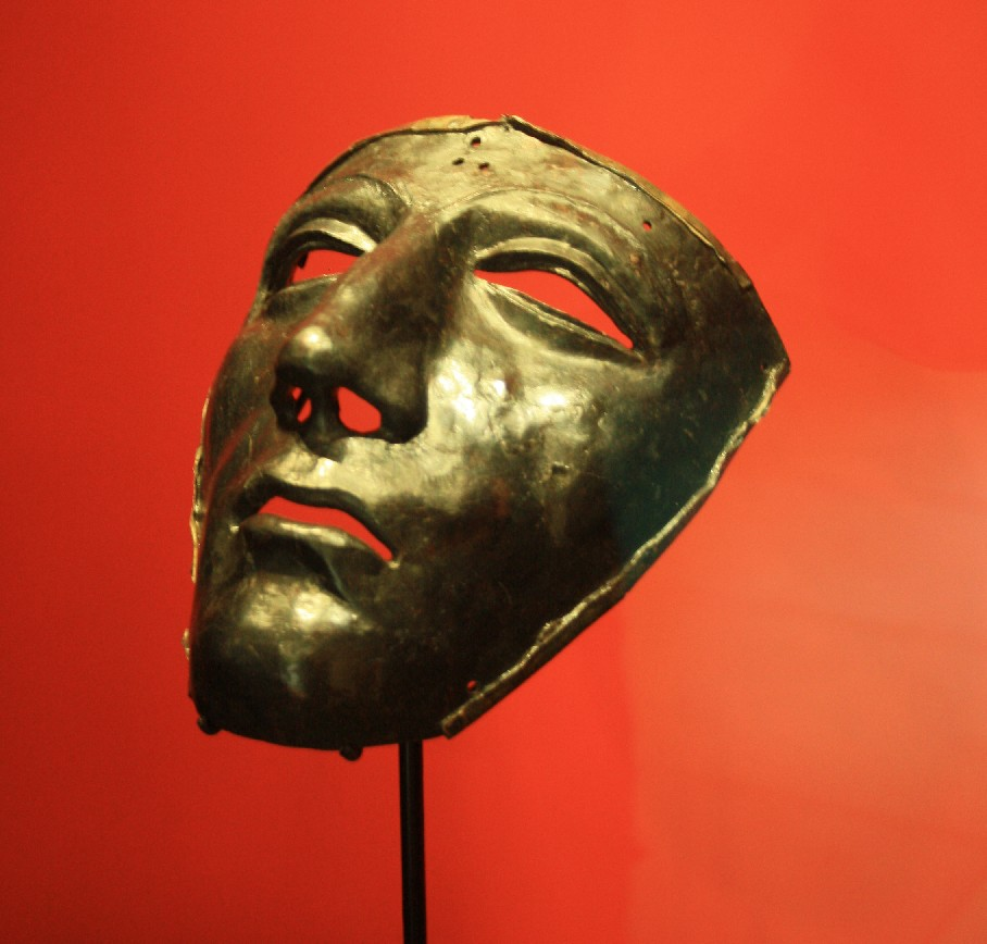 This Roman mask is the most famous piece that was found on the site of the battle in Kalkriese.