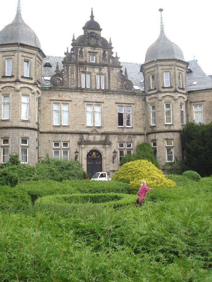 The Castle of Bückeburg is a beautiful place.