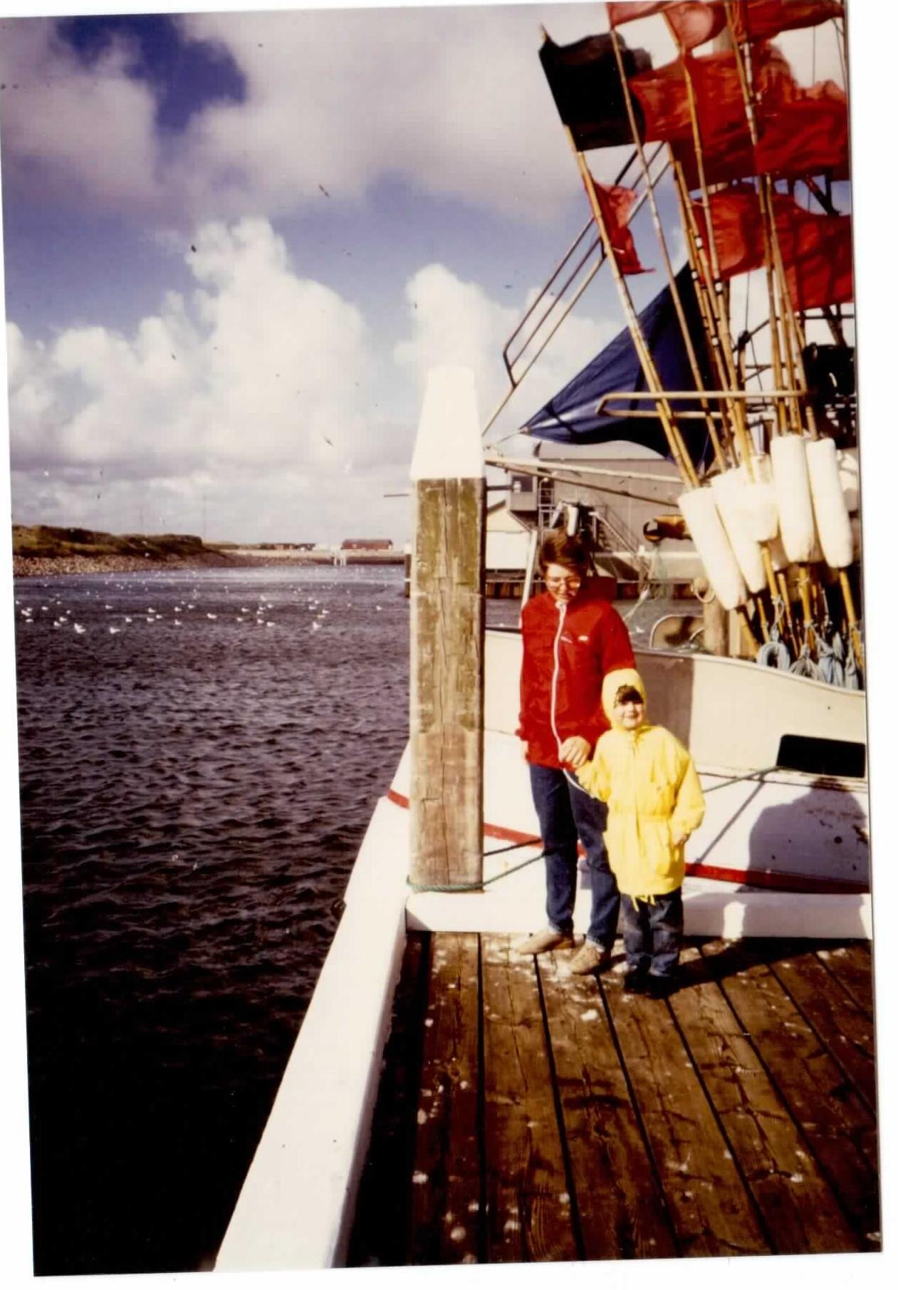 Dänemark-Urlaub in den 80ern.