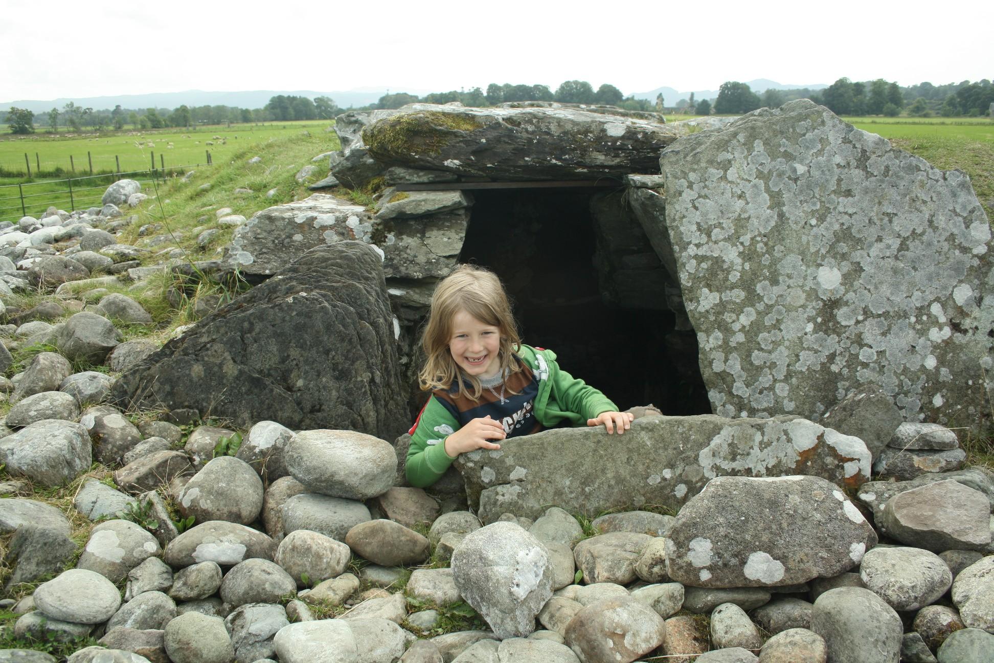 Großsteingrab, Kilmartin, Schottland