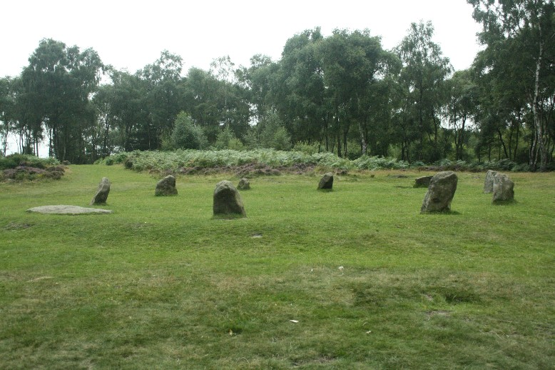 The Nice Ladies Stone Circle - not very impressive but still sacred by some.