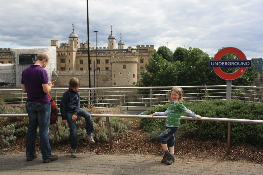Out of the underground and into the city centre: Tower Hill is a good place to start a London tour.