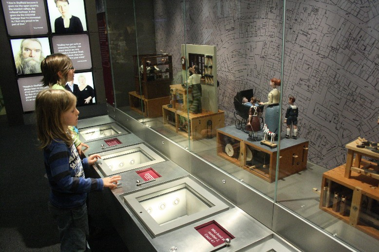 Lots to do and to explore for children at Weston Park Museum.