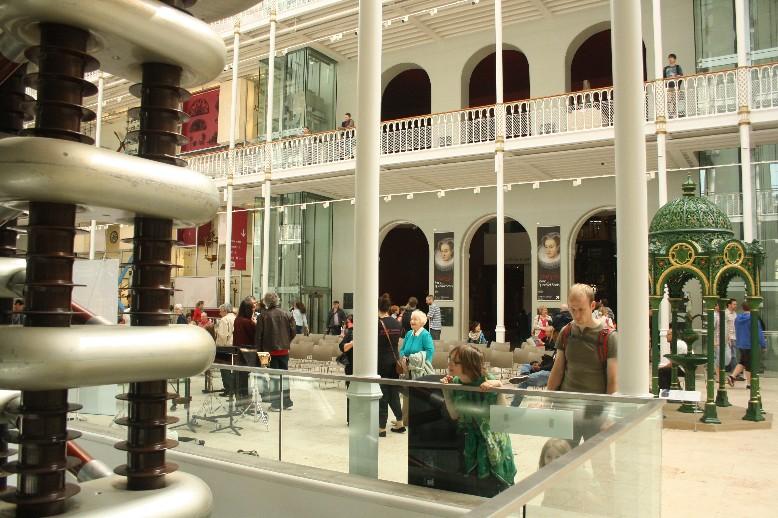 Viel zu entdecken gibt es im National Museum of Scotland in Edinburgh.