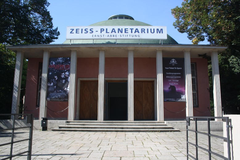 The planetarium of Jena is the second largest in Europe and also the oldest one that's still working.
