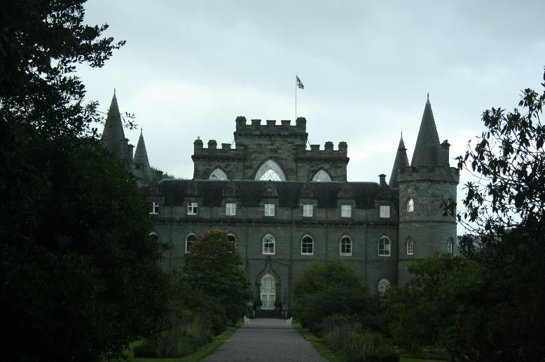 Schottland mit Kindern: Inverary Castle