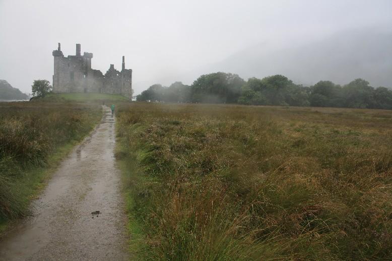 Schottland mit Kindern: Kilchurn Castle