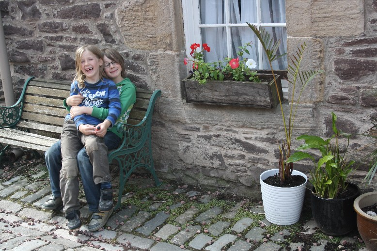 Schottland mit Kindern, Jugendherberge New Lanark.