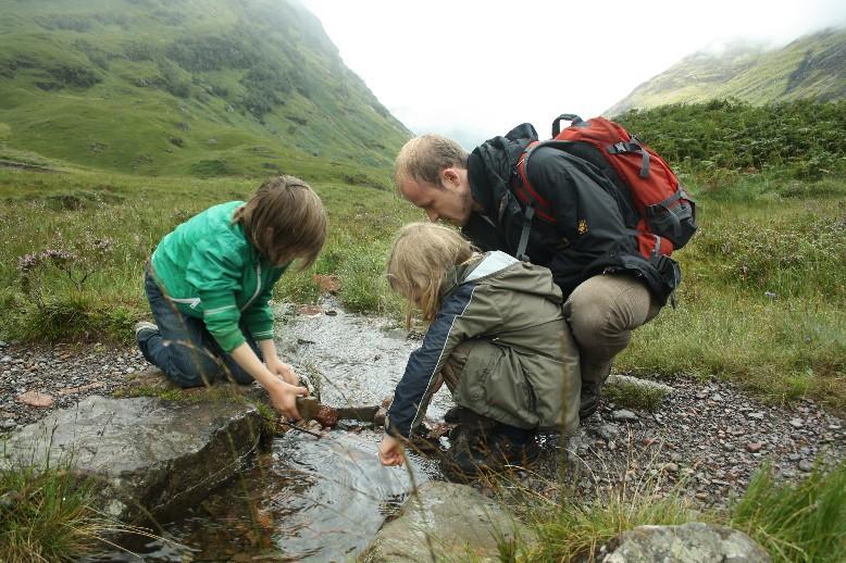 Schottland mit Kindern, Wandern in Glen Coe