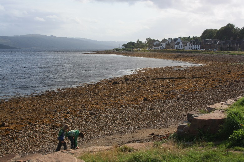 Close enough to a Norwegian fjord. The few houses of Inverary in the background.