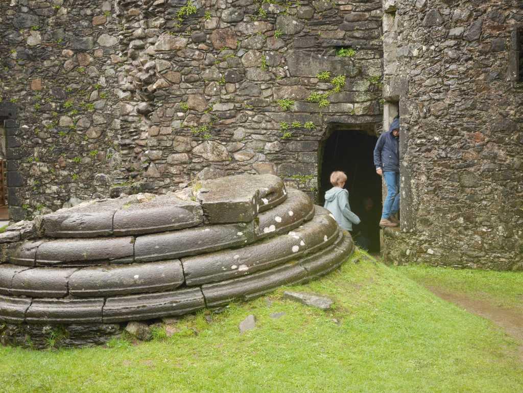 kilchurn castle ruine besichtigen