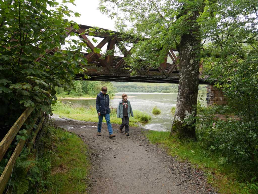 kilchurn castle wanderweg