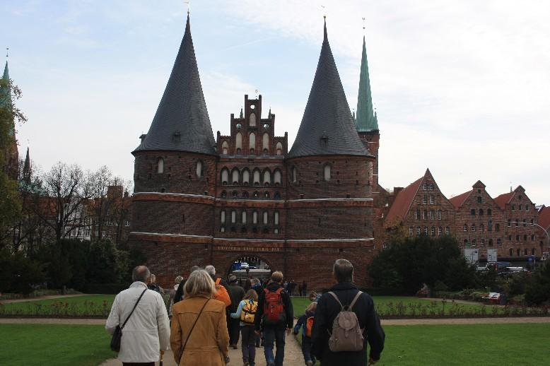 Lübeck mit Kindern, Holstentor