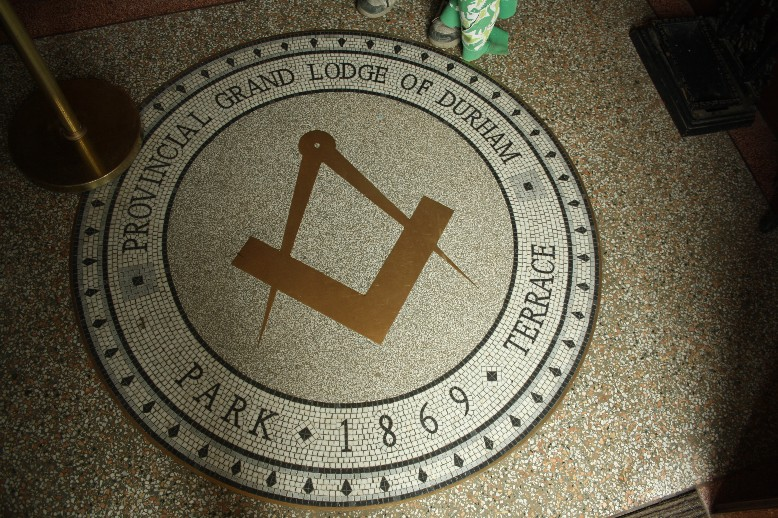 Highly interesting was a visit of the house of the Masonic Lodge in Beamish Town.