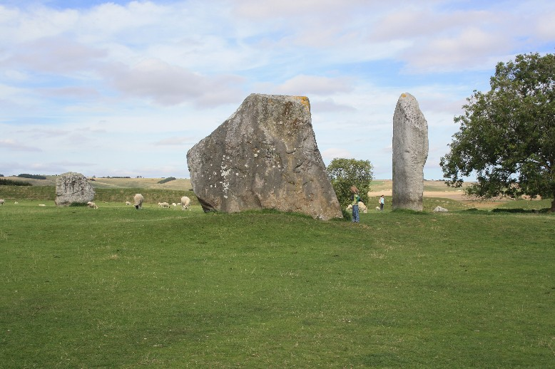 Quite a few of the standing stones of Avebury are HUGE! No wonder the unlucky barber was buried for 600 years when one of them fell on top of him.