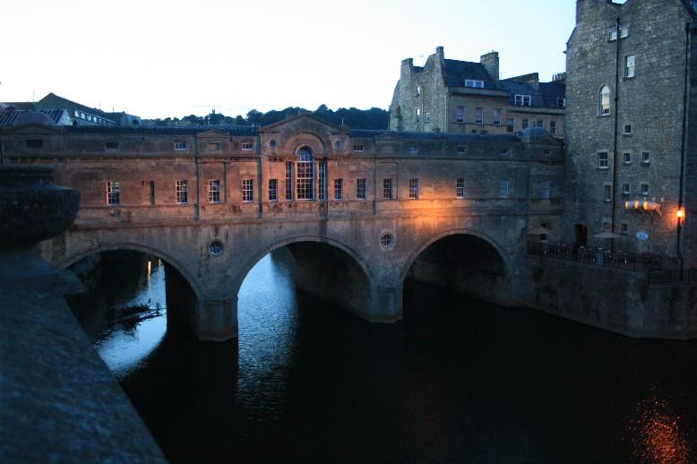 Pulteney Bridge: Florenz in klein. (Looks like miniature Florence.)