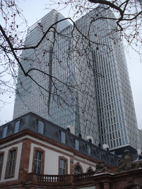 Frankfurt is the only German city with a decent skyline - and a lot of history nevertheless.