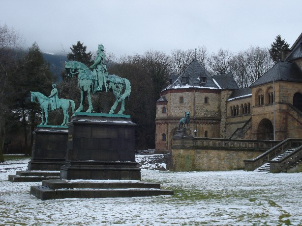 Die Kaiserpfalz - the royal palace of Goslar, dating back as far as the 11th century.