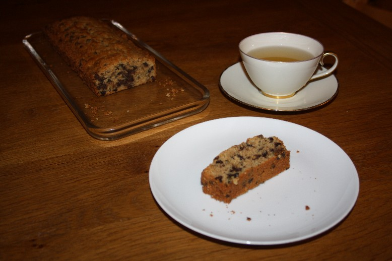 Enjoying a cup of tea and the first ever cake made by my boys all by themselves! (Well okay, it was a convenience blend, but they still had to weigh butter and add two eggs - you can follow the process in pics on instagram - the photo box on the right will get you there.)