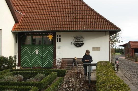 Zu Hause bei Max und Moritz (in Wiedensahl, Deutschland)