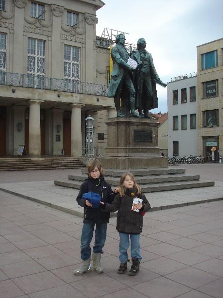Weimar mit Kindern