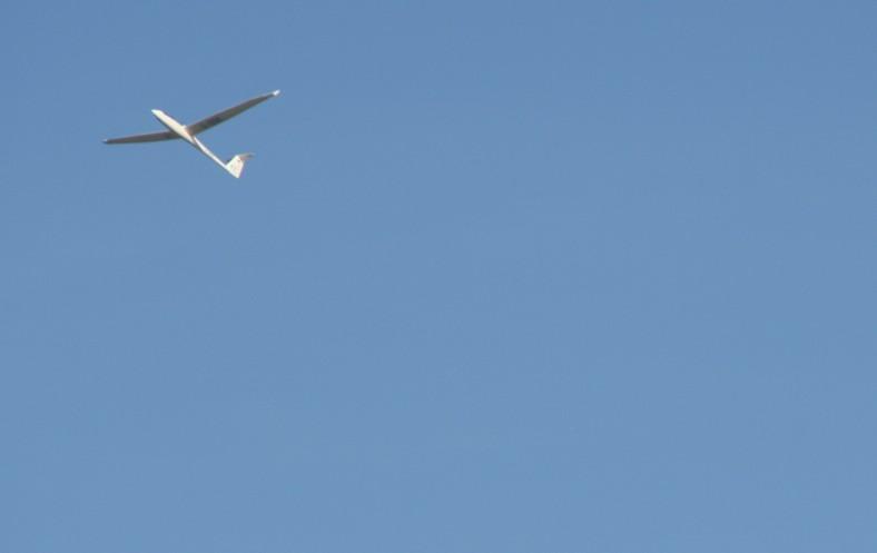 Am Flugplatz Rinteln lassen sich Segelflieger aus der Nähe betrachten.