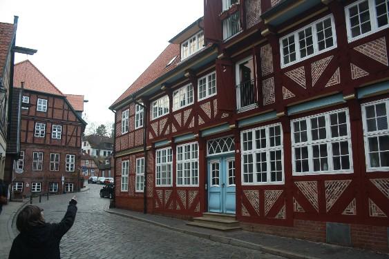 Die Altstadt ist wirklich ausgesprochen hübsch. (Pretty old town of Lauenburg.)