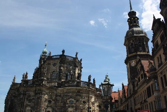 Dass Dresden Florenz so ähnlich sieht, liegt auch daran, dass Italiener es erbaut haben.