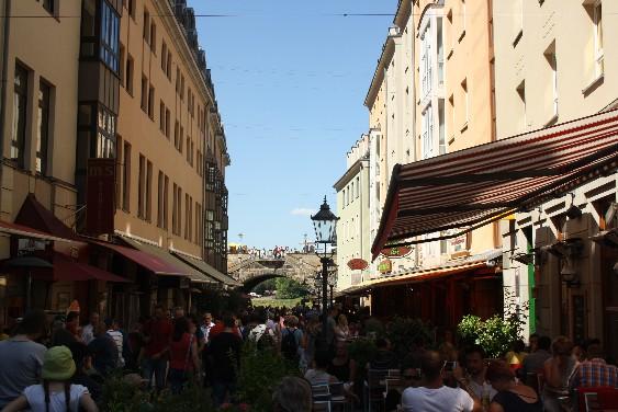 Da sind wir extra von weither angereist, und dann ist Dresden voller Touristen von anderswo...