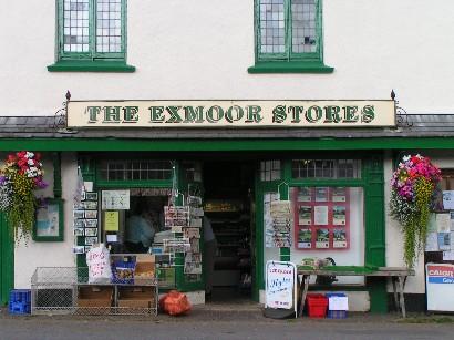 Die Shopping Mall von Exford.
