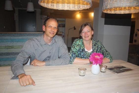 Hoftel Föhr: Sjirk und AnneClaire Loogman betreiben das Hoftel mit ganz viel Herzblut.