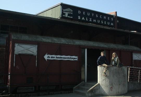 Das Deutsche Salzmuseum befindet sich im alten Siedehaus der 1980 geschlossenen Saline.