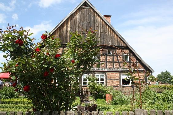 Das Lauenhäger Bauernhaus im Schaumburger Land.