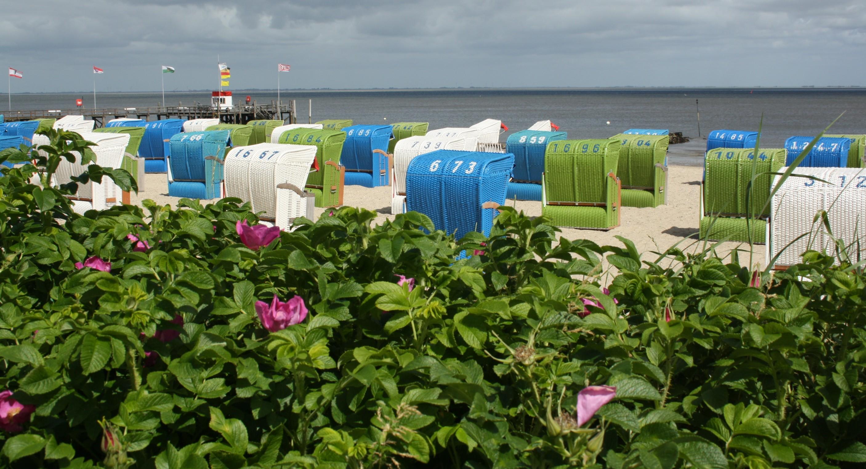 Am Strand von Föhr für Familien