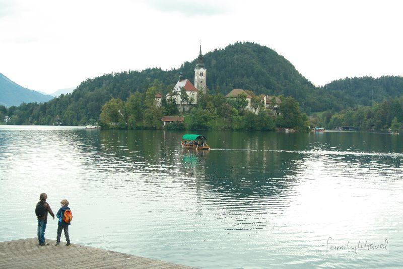 Die Marieninsel im Bleder See ist immer noch ein Wallfahrtsort.