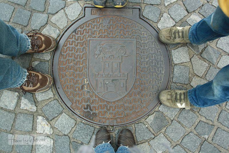 """Ljubljana, """"geliebte"""" Drachenstadt."""