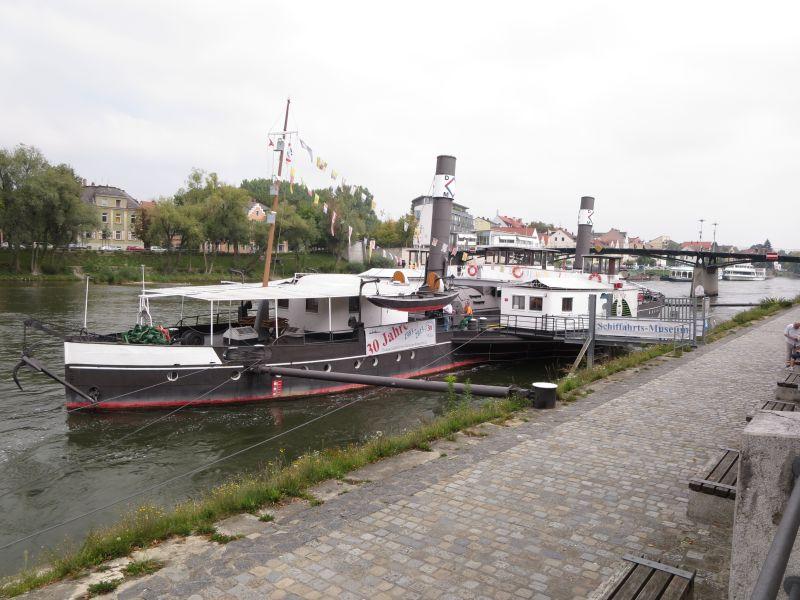 Kurios: Das kleine Schifffahrtsmuseum auf der Donau lag selbst zwölf Jahre auf dem Grund derselben.