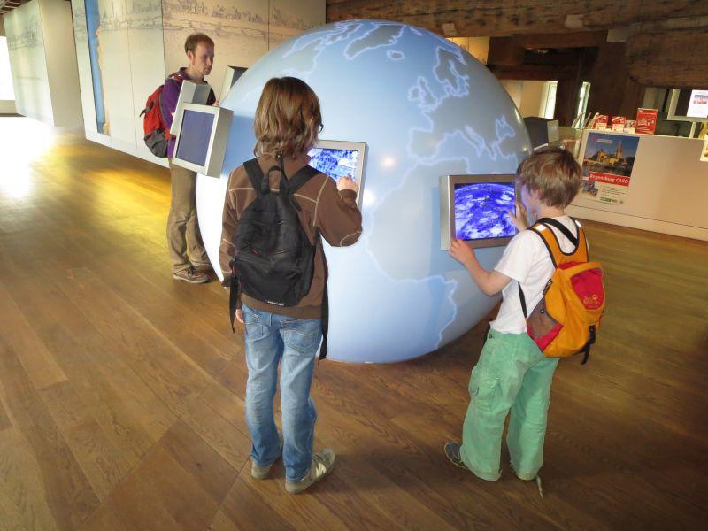 Interaktiv, interessant und dann auch noch kostenlos: Im Welterbe-Besucherzentrum lässt sich ein lohnendes Stündchen verbringen.