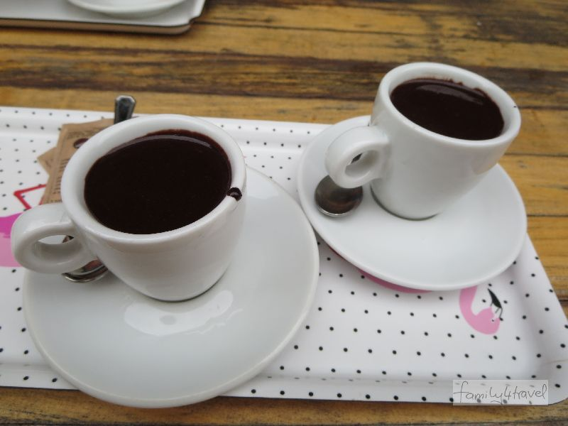 Ende gut, alles gut: himmlische heiße Schokolade!