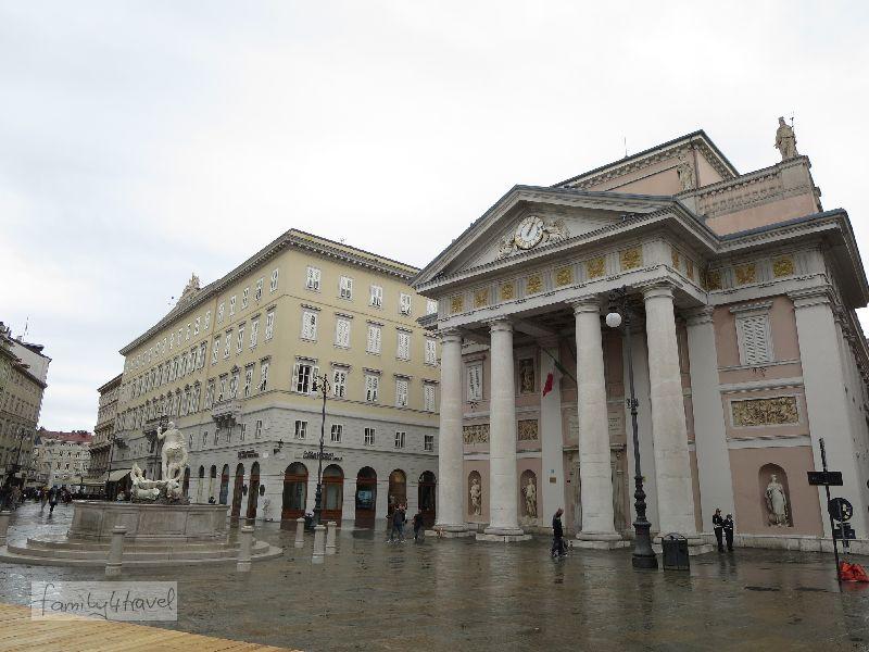 Das Teatro Verdi besitzt auch heute noch einen ausgezeichneten Ruf.