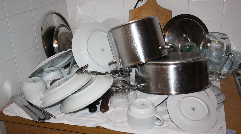 Leidiger Reisealltag: der Abwasch.