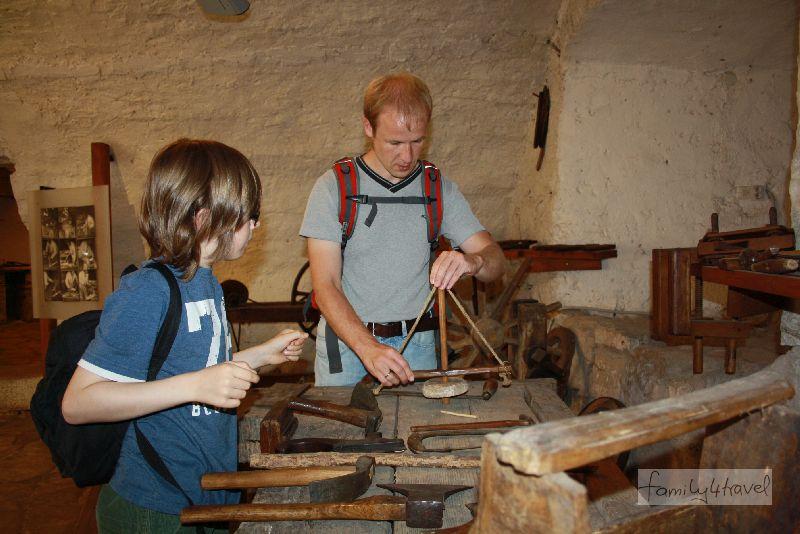 Besonders gefallen haben uns die Handwerker-Werkstätten im Museum der istrischen Kultur.