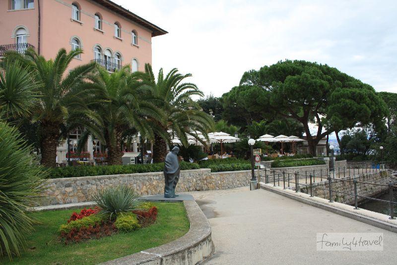 kroatien-istrien-opatija-promenade