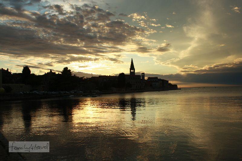 Poreç ist die touristische Hauptstadt Istriens.
